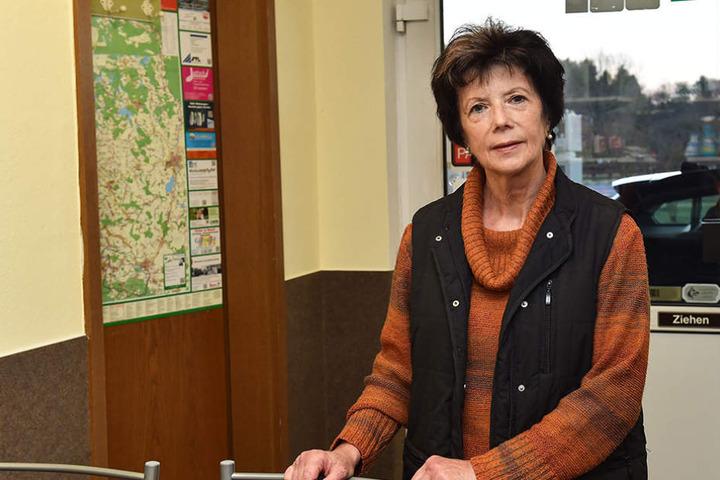Hat Respekt vor dem Tier: Verkäuferin Rosemarie Broda (66).