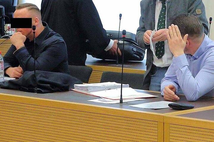 Erik H. (23, l.) und Stephan M. (30) waren an dem verhinderten Schmuggel beteiligt.
