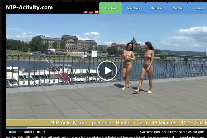 Besonders gerne treiben sich die Nackschen auf der Brühlschen Terrasse herum.