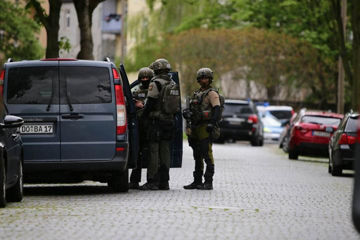 Am Mittwochmorgen gab es in Leipzig einen Anti-Terror-Einsatz. (Archivbild)