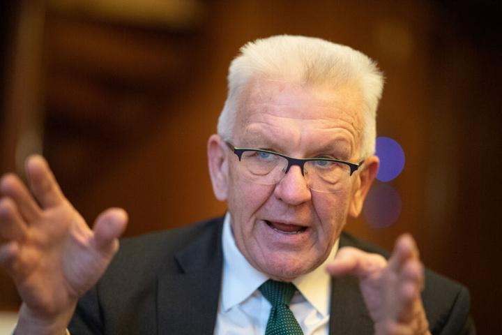 Baden-Württembergs Ministerpräsident Winfried Kretschmann (Grüne) sieht in den Organspende-Plänen einen tiefen Eingriff.