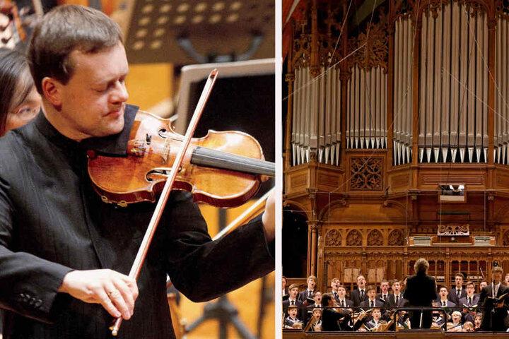 Am 15. September (Leipzig) und 12. November (Dresden) geben das Gewandhausorchester und die Staatskapelle gemeinsame Konzerte für ein friedliches Miteinander.