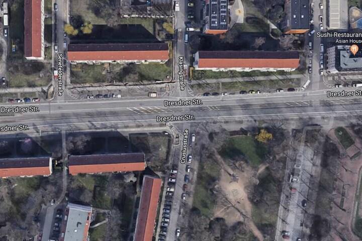 An der Einmündung Klasing-/Crusiusstraße wollte der Radler links abbiegen, wurde dabei von einem Bus erfasst.