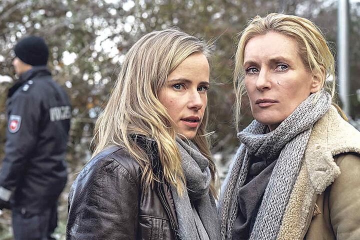 Frauke Schäfer (Susanne Bormann, 38) streitet mit Charlotte Lindholm (Maria Furtwängler, 51) um die Ermittlungshoheit.
