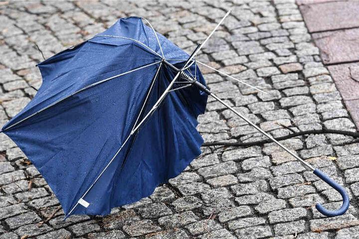 """Schluss mit Sturm: Der DWD hat """"Friederike"""" zum Orkan heraufgestuft (Symbolbild)."""