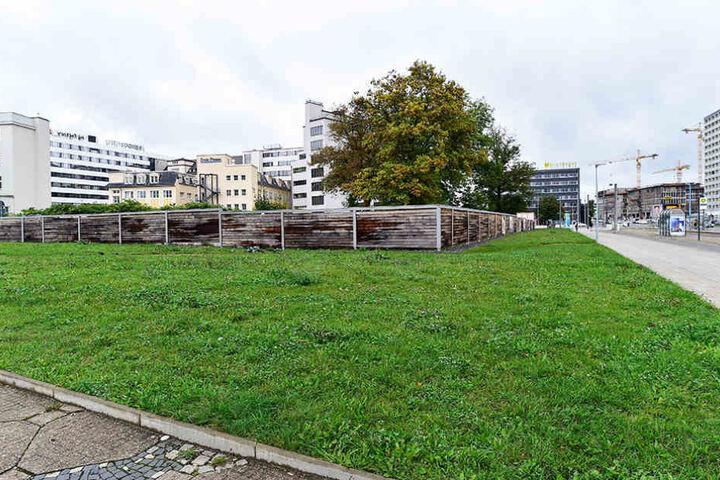 """6000 Quadratmeter zwischen """"smac"""" und Johannisplatz warten auf einen neuen Besitzer."""