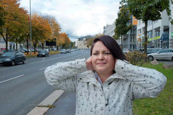 """Corina Walther (34): """"Ich habe Verständnis für Rettungseinsätze - aber hier herrscht Dauerlärm."""""""