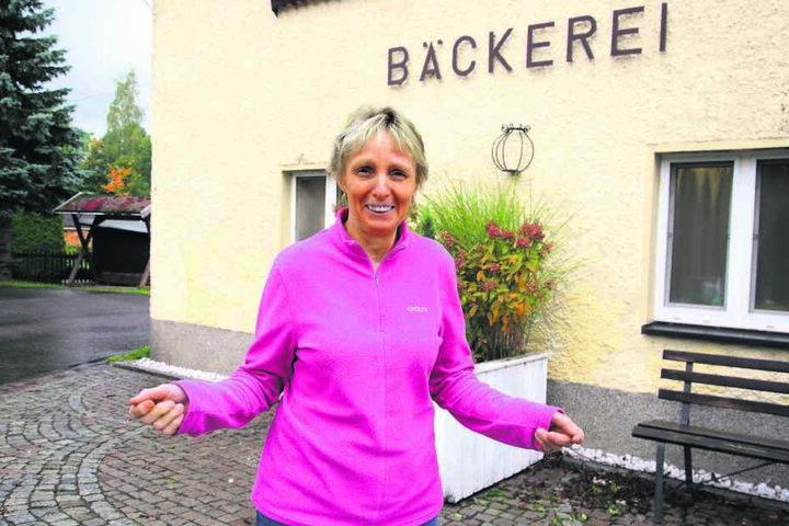 Bäckerin Ursula Buschmann (62) kennt ihr Dorfchemnitz, wurde hier  geboren.