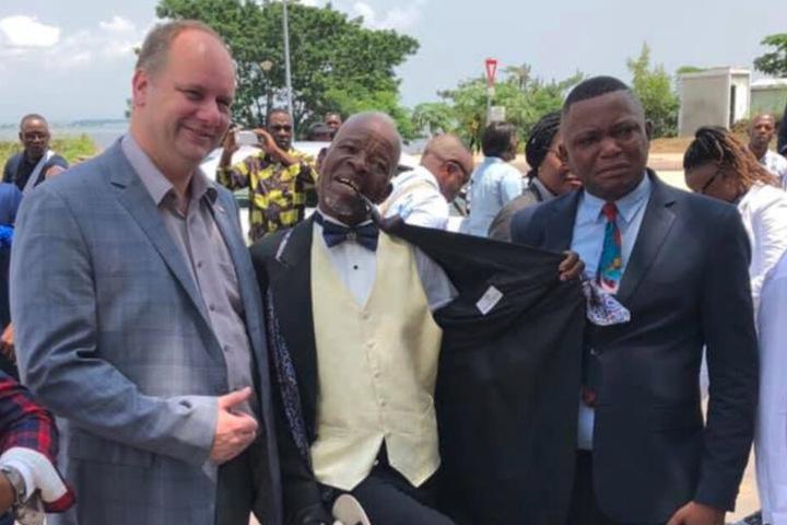Vergangenes Jahr war der OB bereits einmal in Dresdens Partnerstadt Brazzaville.