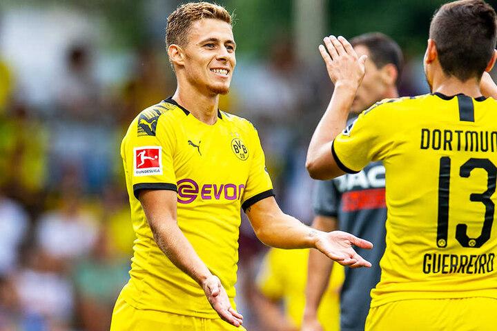 Thorgan Hazard soll die BVB-Offensive beleben.