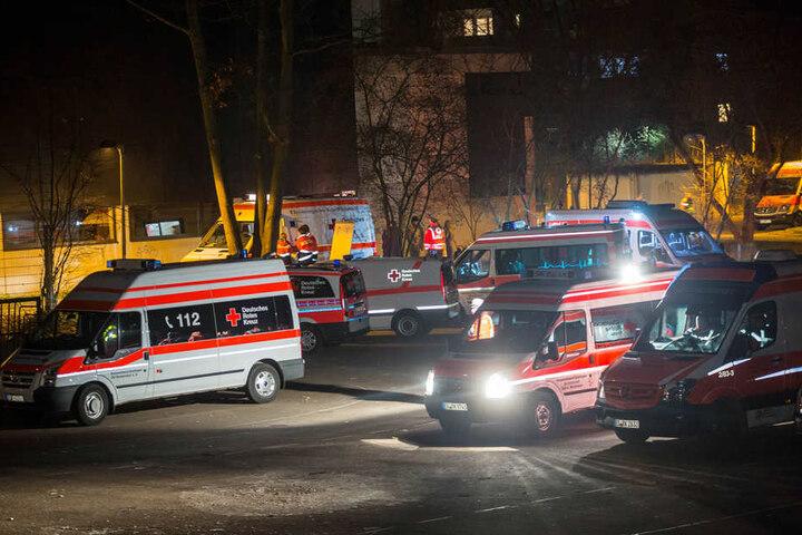 Fast 50 Menschen wurden teilweise schwer verletzt.
