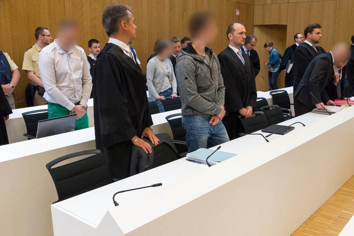 Das Landgericht München II hat am Montag das Urteil gegen die drei Täter verkündet.