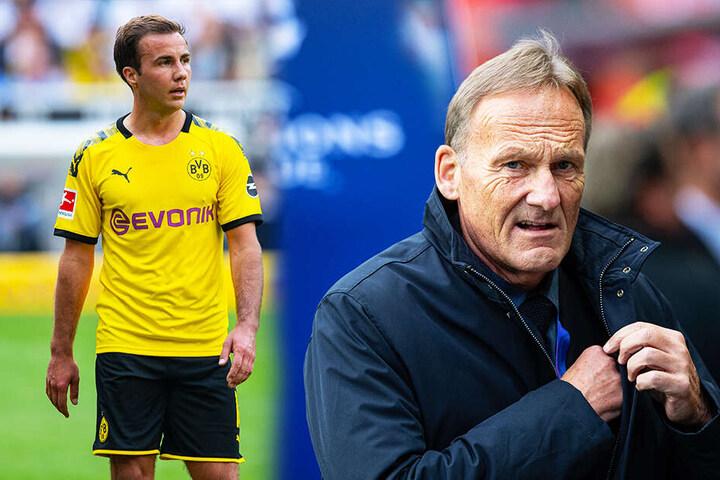 Der Abgang von Mario Götze (l.) 2013 zum FC Bayern München hat für Hans-Joachim Watzke von immer einen faden Beigeschmack.