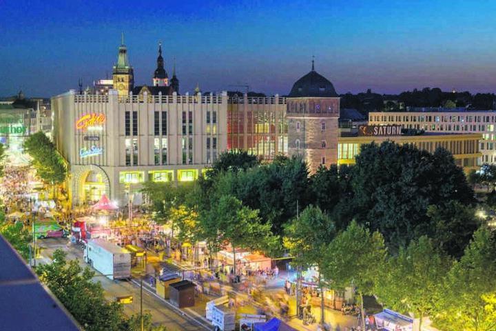 Zum Stadtfest Ende August soll alles fertig sein.
