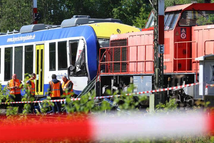 Bei einem schrecklichen Zugunfall in Aichach in Bayern gab es Tote und Verletzte. (Archivbild)