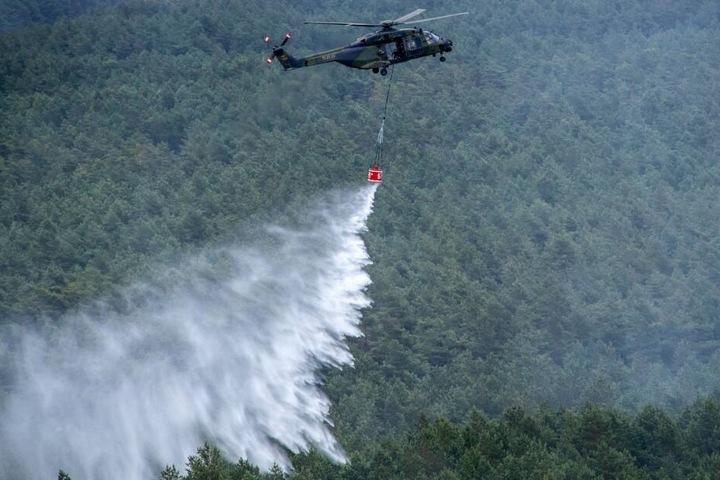 Der Waldbrand in Lübtheen war einer der größten der Geschichte.