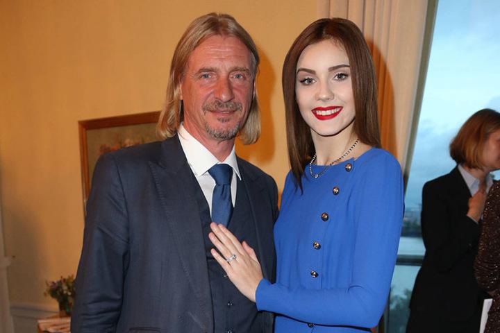 Nathalie Volk und ihr Freund Frank Otto wollen ab Anfang 2017 die TV-Welt gemeinsam erobern.