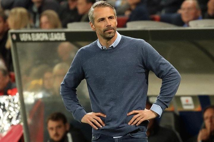Marco Rose (41) könnte der neue Trainer bei RB Leipzig werden. Bisher steht er bei Red Bull Salzburg an der Seitenlinie.