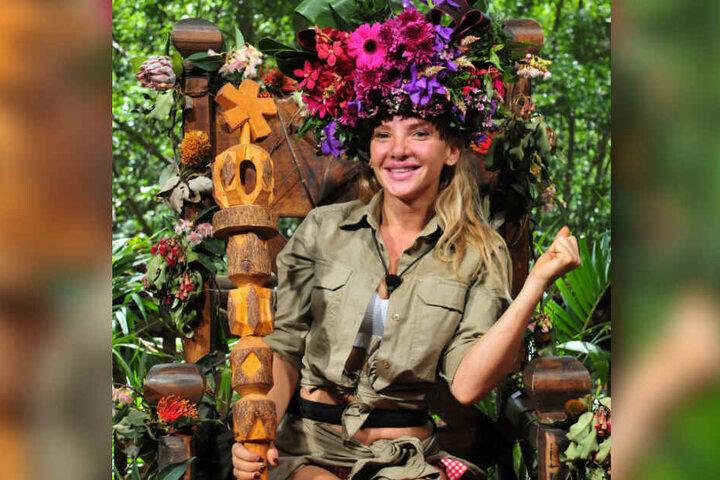 Die neue Dschungelkönigin: Evelyn Burdecki.