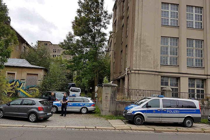 Die Leiche von Gerd S. wurde in einem Gebäude der ehemaligen Wanderer Werke in Chemnitz gefunden.