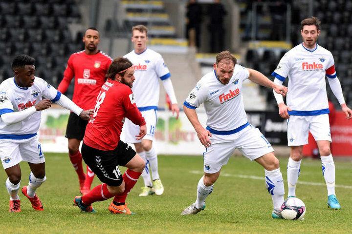 Der SC Paderborn lieferte in der Defensive eine stabile Leistung.