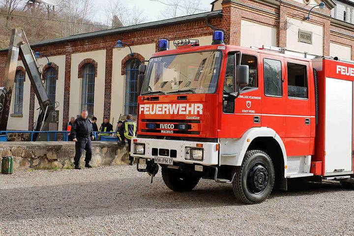 Die Feuerwehr barg die Leiche am Mittwochmorgen.