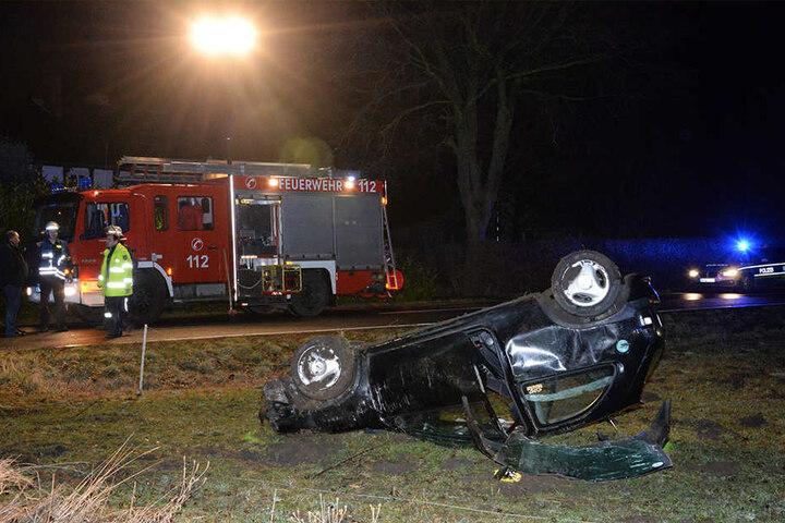 Eine junge Frau wurde schwer verletzt, die zwei Männer kamen mit leichten Verletzungen davon.