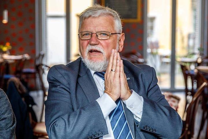 Konsum-Chef Gunther Seifert (64).