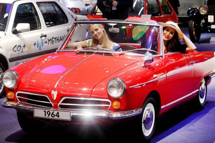Das NSU-Cabrio von 1964 ist eine Rarität.