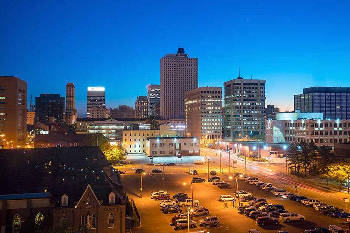 Zu der Attacke kam es in Memphis (Tennessee).