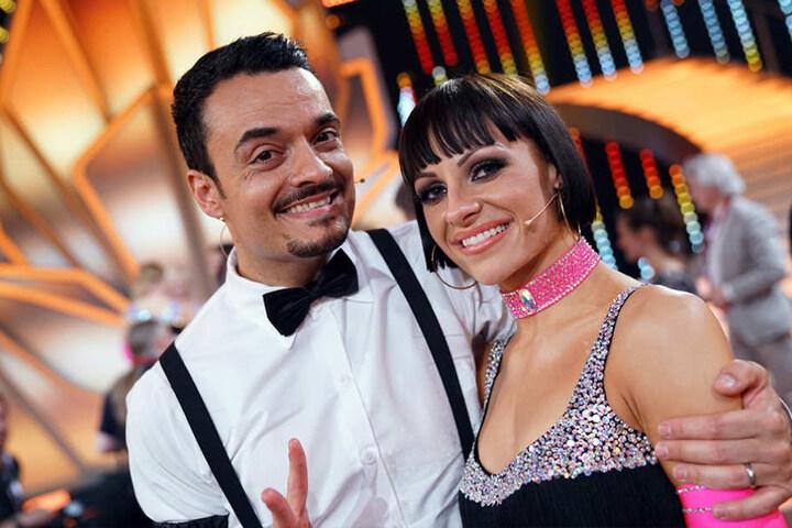 Haben jetzt gut Lachen: Giovanni und seine Tanzpartnerin Marta.