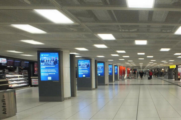 Der Vorfall ereignete sich im Zwischengeschoss des Münchner Hauptbahnhofes.