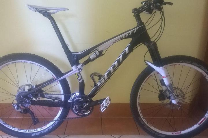 Auch ein Carbon-Mountainbike der Firma Scott kann bisher nicht dem Eigentümer zugeordnet werden.