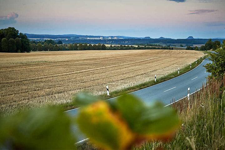Zwischen Heidenau und Pirna soll der Industriepark entlang des Autobahnzubringers zur A17 am Feistenberg entstehen.