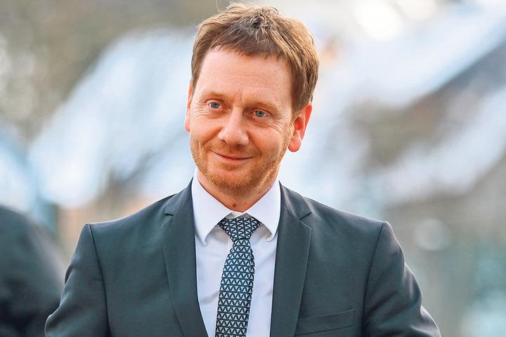 """Sachsens CDU-Chef und Ministerpräsident Michael Kretschmer (42) wirbt für die """"GroKo""""."""