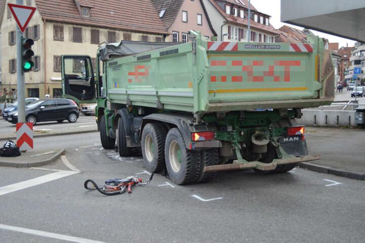 Mit schweren Verletzungen kam das Unfallopfer ins Krankenhaus.