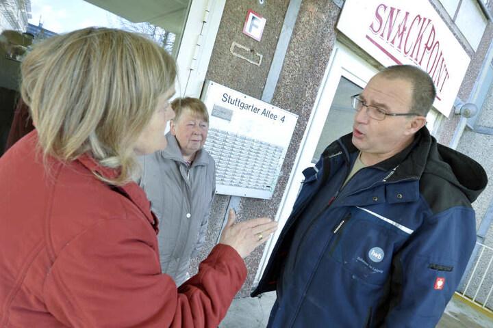 """""""Sozialhausmeister"""" Oelpke soll mit den Mietern ins Gespräch kommen und helfen, soziale Spannungen abzubauen."""