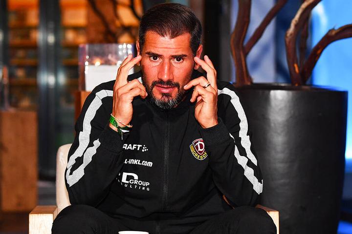 Er gab zu, der Kopf bestimmt das Spiel. Daran muss Cristian Fiel noch arbeiten.