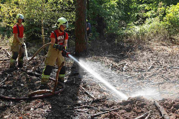 Insgesamt 81 Einsatzkräfte brauchten vier Stunden, um das das Feuer zu löschen.