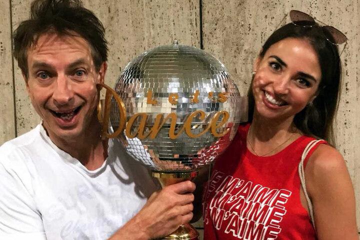 "Mit Ekaterina Leonova holte Ingolf Lück den ""Let's Dance""-Pokal."