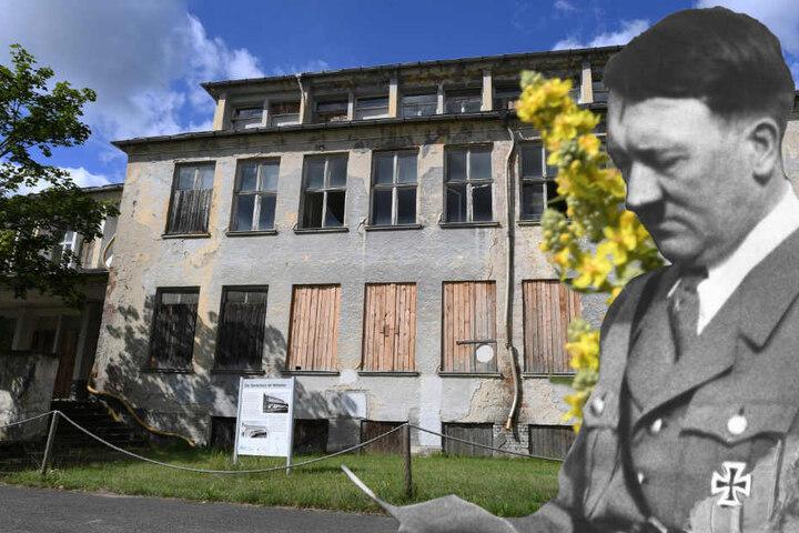 Seit Jahrzehnten ungenutzt sollen in Hitlers Olympischen Dorf Wohnungen entstehen. (Bildmontage)
