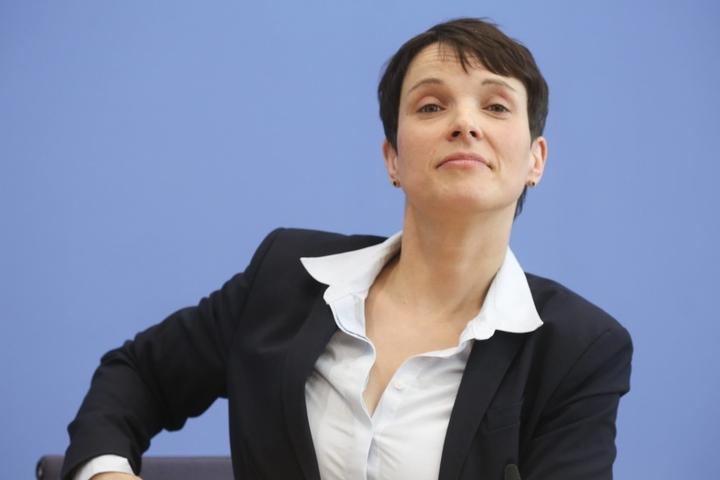 Frauke Petry, Parteivorsitzende der AFD.
