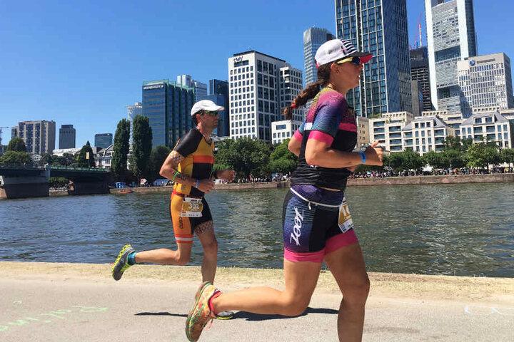 Auch die weiblichen Starterinnen zeigten sich beim Ironman ganz stark.