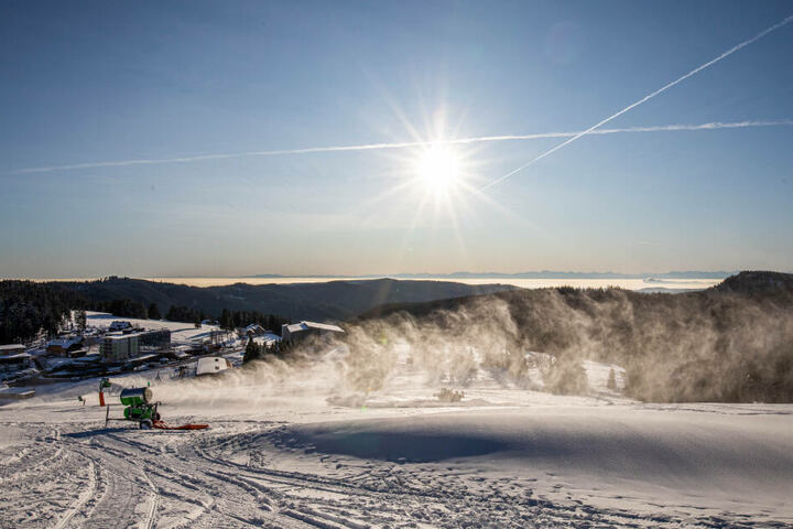 Auf dem Feldberg liegt nicht genug Schnee. (Archivbild)