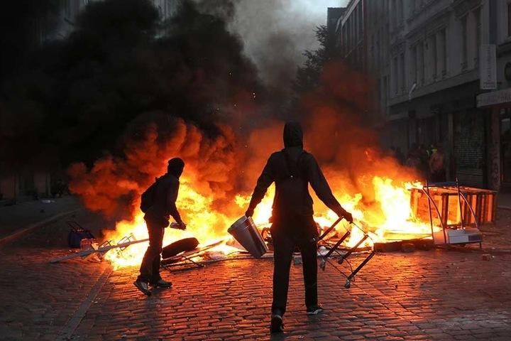 Auch linke Extremisten sind im Visier der Verfassungsschützer.