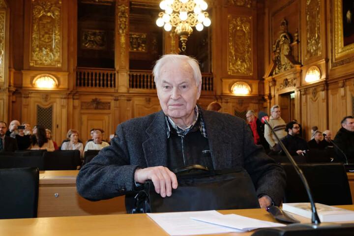 Klagte am Mittwoch vor dem Bundesverwaltungsgericht: Hans Modrow.