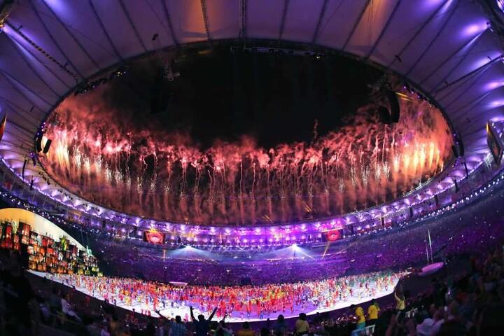 Im August 2016 fanden im Stadion die prachtvollen Eröffnungs- und Schlussfeiern der Olympischen Spiele statt.