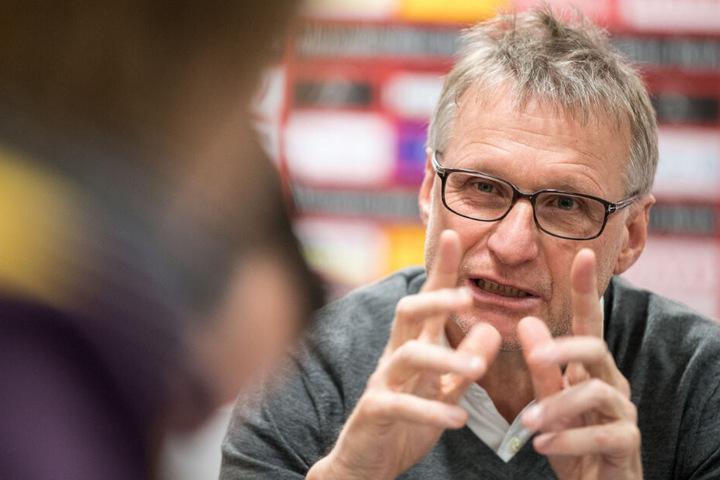 Michael Reschke, ehemaliger Sportvorstand des VfB Stuttgart.