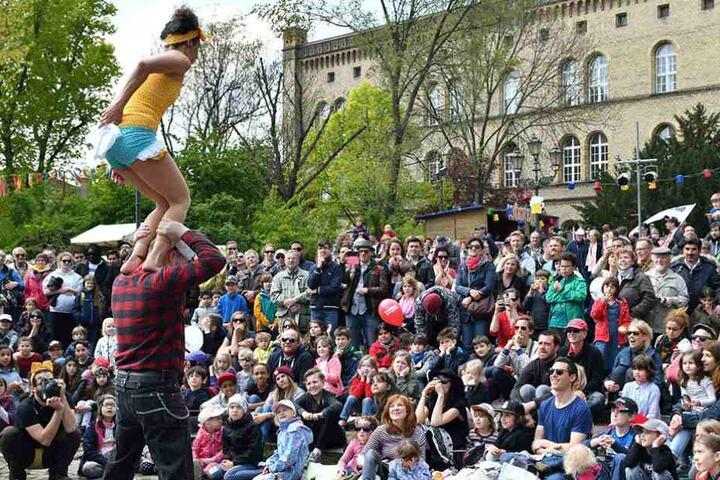 Der 1. Mai wurde in Berlin weitgehend friedlich gefeiert.