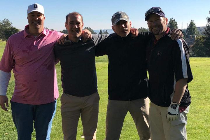 Spielte mit Studien-Kollegen im Urlaub auch Golf: FSV-Trainer Joe Enochs (r.).